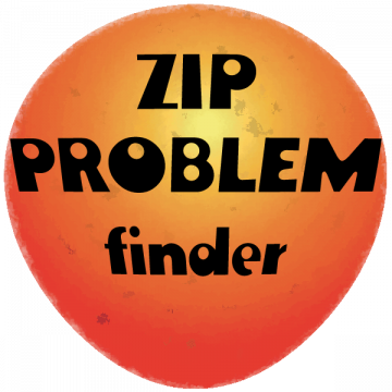 """ZIP PROBLEM"" Finder"